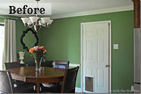 a dazzling dining room redo using the rabat stencil