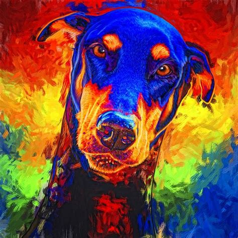 Humm3r Dobermann doberman pinscher by gregg billman