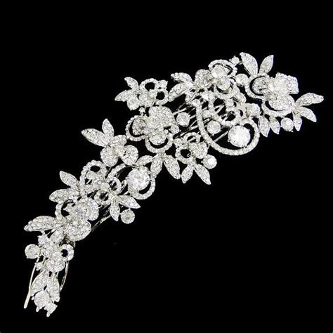 vintage bridesmaid hair pieces vintage inspired swarovski hair tiara