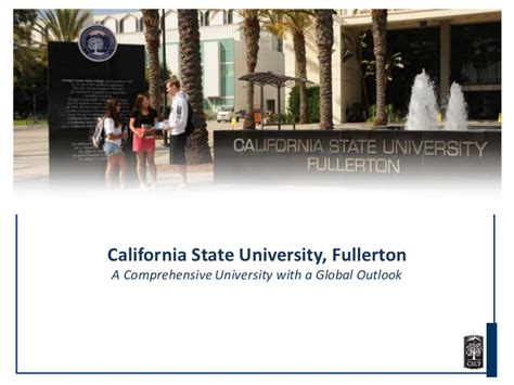 Cal State Fullerton Mba Information Session by California State Fullerton