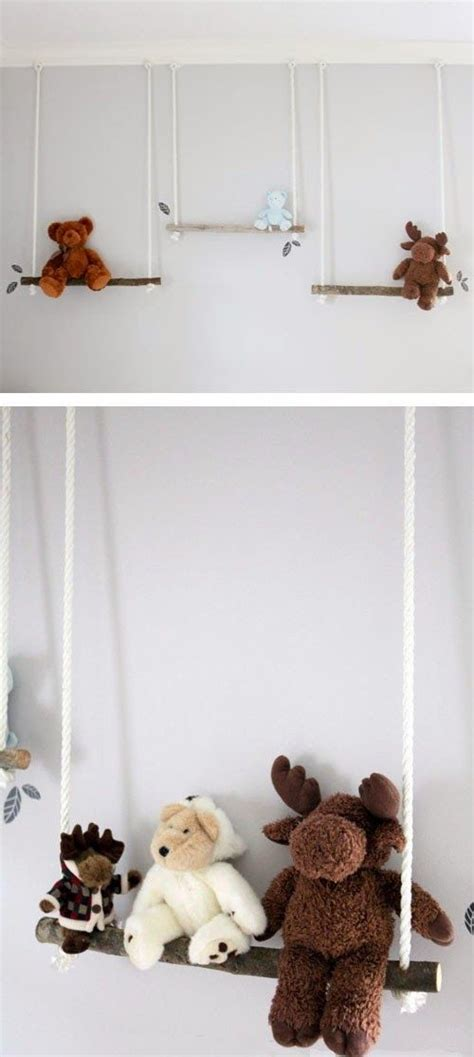 stuffed animal swing stuffed animals animals and swings on pinterest