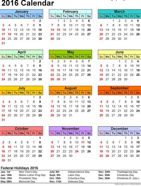 printable weekly calendar 2016 canada calendar with the holidays free calendar template 2016