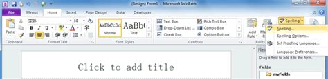 Office 365 Outlook Spell Check Not Working How To Set Spell Check In Excel 2007 How To Spell Check