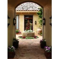 Home Plans With Interior Courtyards by House Plans Interior Courtyards Polyvore