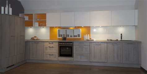 Yellow And Gray Kitchen by Bauformat Kitchens Premium Quality German Kitchens