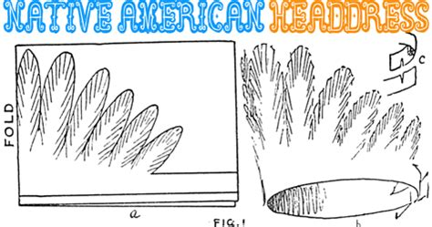 indian headdress template thanksgiving indian hats images