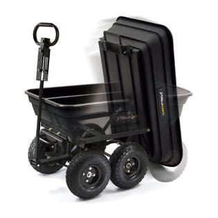 gorilla gor200 bd garden dump cart