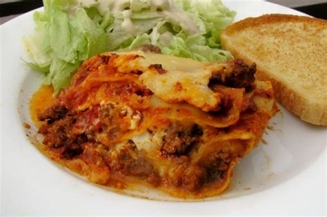 Lasagna Recipe Easy Cottage Cheese by Easy Lasagna With Cottage Cheese Recipe Food