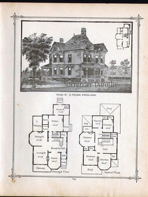 antique house floor plans best 25 vintage house plans ideas on pinterest