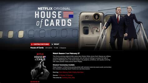 house of cards 3 quot house of cards quot netflix filtr 243 por error la tercera