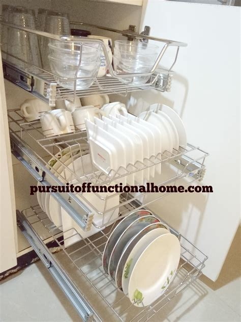 pull out can rack pull out kitchen wire rack pursuit of functional home