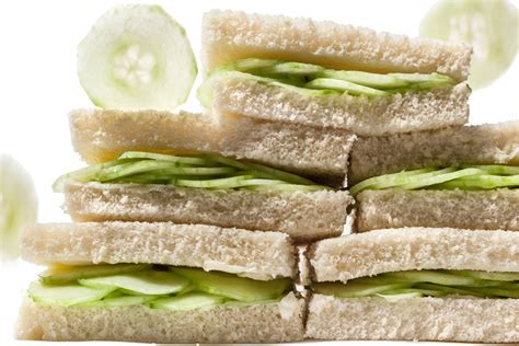 cucumber tea sandwiches recipe chow com