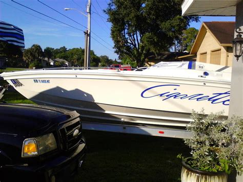 cigarette boat wreck 1977 cigarette powerboat for sale in florida