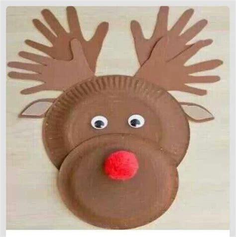 crafts reindeer reindeer craft school