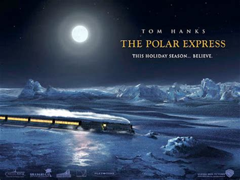 christmas wallpaper polar express vizio blog the polar express wallpapers