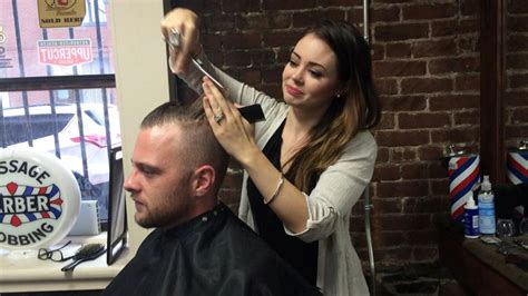 haircuts in halifax your barber is increasingly likely to be a woman the signal