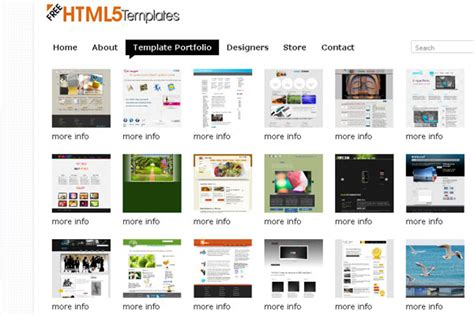 html5 free portfolio template 25 beautiful creative html5 portfolio website templates