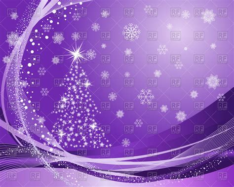 christmas wallpaper violet violet christmas background with fir tree and snowflakes