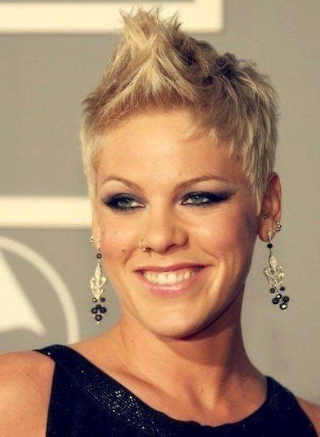 singer hairstyles 20 collection of pink short haircuts