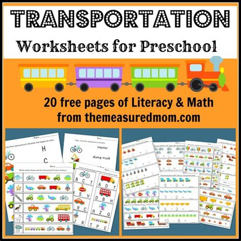 free printable preschool transportation worksheets free printable transportation worksheets for preschool