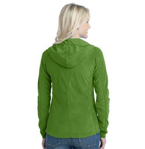 Try A Brightly Coloured Jacket For by Monogrammed Microfleece Hoodie Jacket In Bright Colors