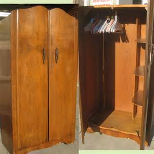 Clothing Armoire For Sale Uhuru Furniture Collectibles Sold Smaller Clothing
