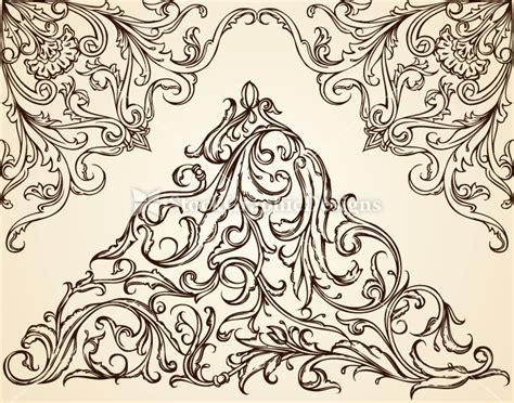 design elements in photoshop vintage calligraphic design elements vector vector
