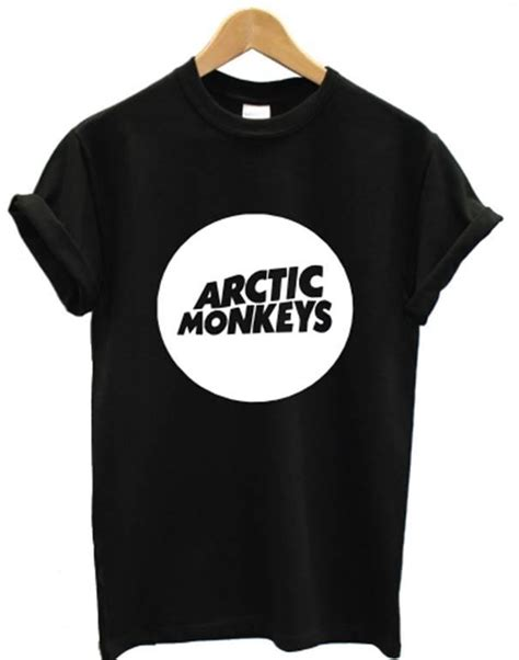 T Shirt Arctic 5 arctic monkeys t shirt circle album rock