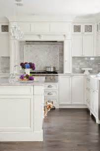 Marble Kitchen Backsplash Design 53 Best White Kitchen Designs Decoholic