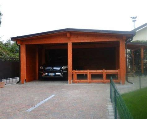 carport box auto legno lamellare prezzi alcune soluzioni di strutture in legno per esterno