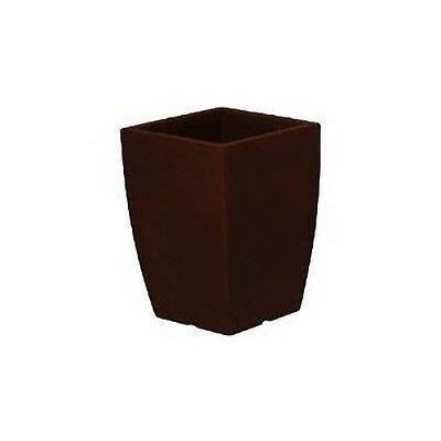 vaso resina bianco vaso resina tondo alto 85 col bianco antracite