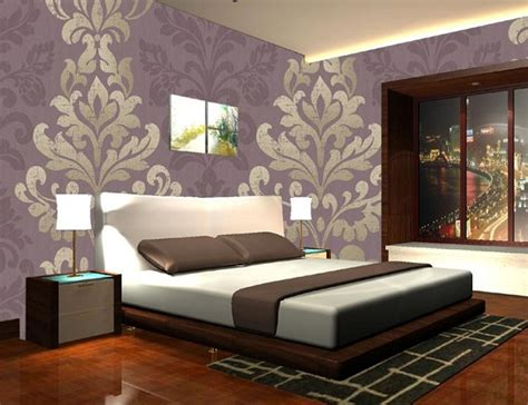 bedroom paint and wallpaper ideas wooden tile laminated floor design room paint colors