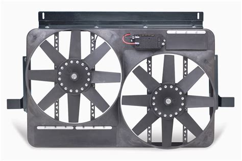 variable speed radiator fan controller flex a lite direct fit dual electric radiator fan with