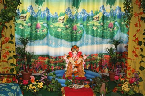 festival dhamaal ganapati decoration  home