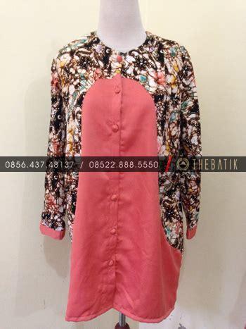 Blus Batik Kombinasi model blus batik kombinasi lurik blouses galleries