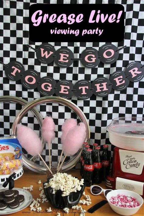 grease theme decorations 17 best images about 50s on bingo april