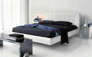 white color comfortable modern bedroom furniture