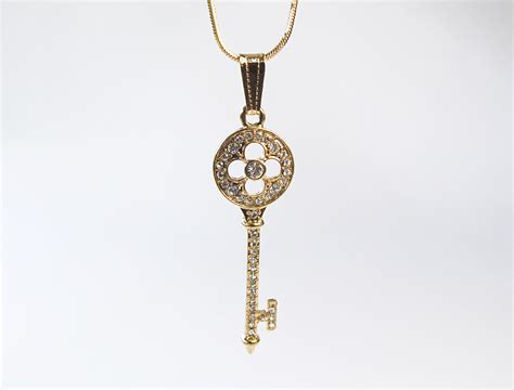 key pendant style necklace