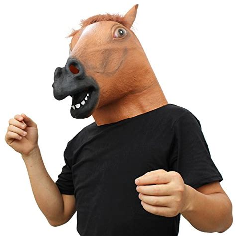 maschera testa di cavallo bingsale maschera testa cavallo strange things