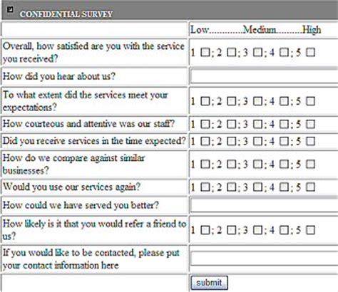 Customer Survey Tools - customer survey tool half moon bay chamber of commerce