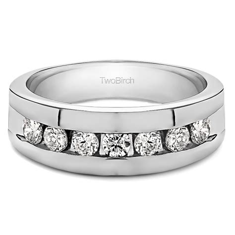 set perhiasan xuping set chanel 49 0 49 carat channel set s ring with open end design