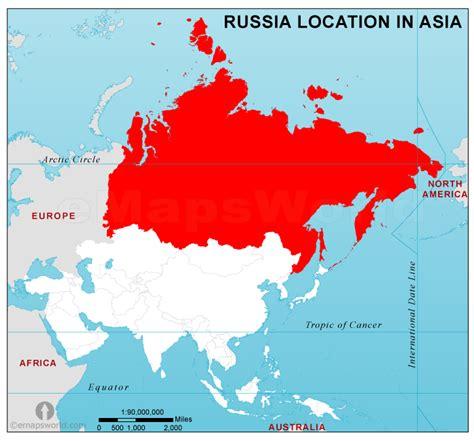 russia map asia russia location map in asia russia location in asia