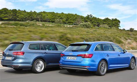 Audi Passat Audi A4 Avant Vw Passat Variant Vergleich Autozeitung De
