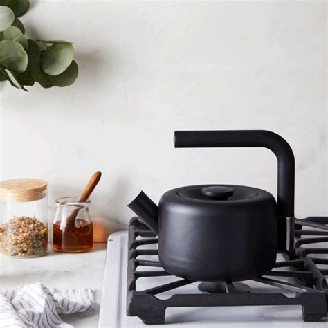 fellow clyde stovetop tea kettle stainless steel