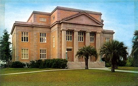 Walton County Florida Court Records Florida Memory Walton County Courthouse Defuniak Springs Florida