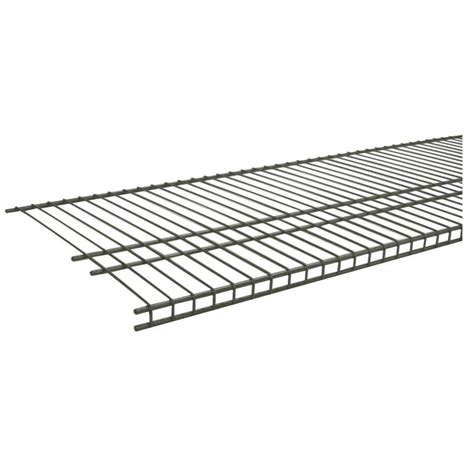 Closetmaid 20 Wire Shelf Closetmaid Shelftrack 36 In W 5 Pair Ventilated Wire Shoe