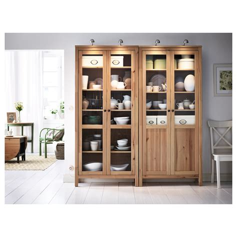 panels for ikea furniture hemnes cabinet with panel glass door light brown 90x197 cm