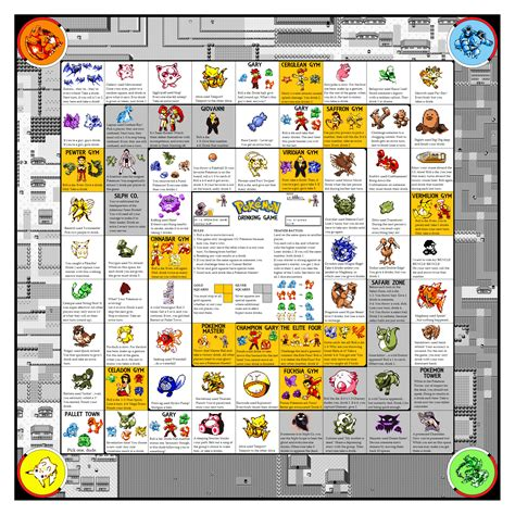 Printable Drinking Board Games | rage comics pokemon and meme drinking game boards with pics