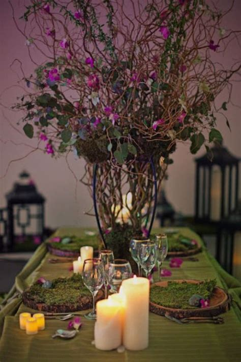 Enchanted Forest Table Decorations by 17 Best Ideas About Enchanted Forest Centerpieces On
