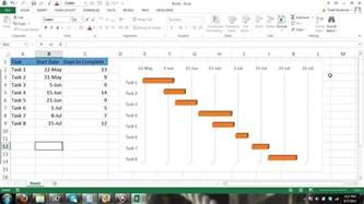 how to make a gantt chart in excel 2013 apps directories